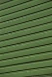 Green Corrugated Iron Royalty Free Stock Photos