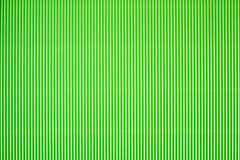 Green corrugated paperboard texture. Royalty Free Stock Photos