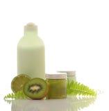 Green cosmetic Stock Photo