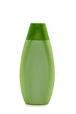 Green cosmetic bottle Stock Image
