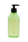 Green cosmetic bottle Stock Photography