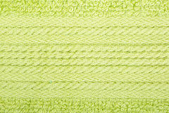 Green cotton fabric texture background. Stock Photography