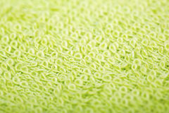 Green cotton fabric texture background. Stock Photo