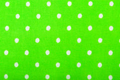 Green cotton fabric texture Royalty Free Stock Photos