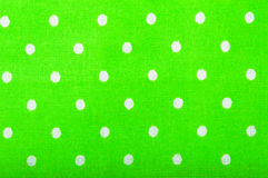 Green cotton fabric texture Stock Image