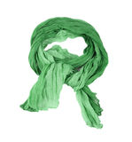 Green cotton scar Royalty Free Stock Image