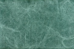 Green cotton texture background Royalty Free Stock Images