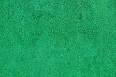 Green cotton towel close up texture background Royalty Free Stock Images