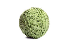 Green yarn Stock Images