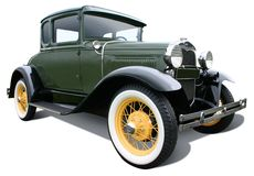 Green Coupe Royalty Free Stock Image