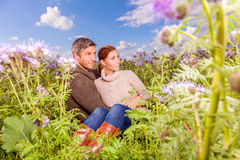 Green couple Royalty Free Stock Photography