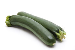 Green courgette Royalty Free Stock Photos