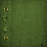Green cover for an album Royalty Free Stock Image