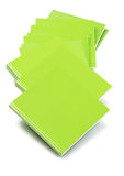 Green Cover Books Royalty Free Stock Images