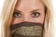 Green cover face stock images