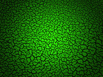 Green Cracked Background Royalty Free Stock Photos