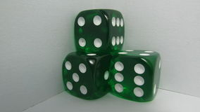 Green Craps. In a withe background Stock Photos