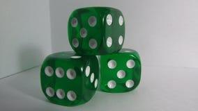 Green Craps Stock Photo