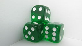 Green Craps. In a withe background Stock Images