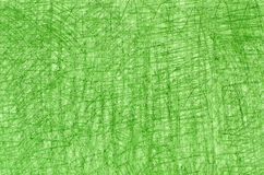 Green crayon drawings on white background texture Royalty Free Stock Image