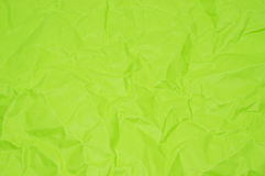 Green creased paper Stock Image