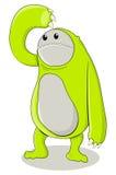 Green Creature Stock Photo
