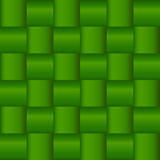 Green Criss Cross Woven Pattern Royalty Free Stock Photo