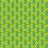 Green crochet pattern Stock Photo