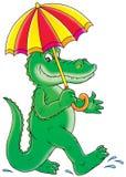 Green crocodile Stock Photo