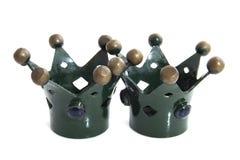 Green crowns Stock Photos