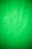 Green crumpled recycle paper Stock Photography