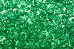 Green crystal Royalty Free Stock Photography