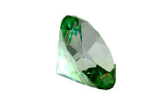 Green Crystal Royalty Free Stock Photo