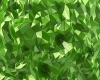 Green crystal background Royalty Free Stock Images