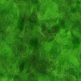 Green crystal pattern Stock Images