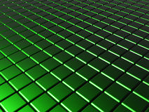 Green cubes background Stock Photo