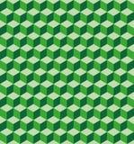 Green cubes seamless texture Royalty Free Stock Photos
