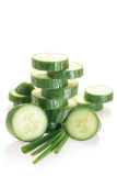 Green cucumber Royalty Free Stock Image