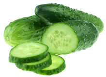 Green cucumber Stock Photography