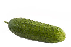 Green cucumber and pimples Stock Photos
