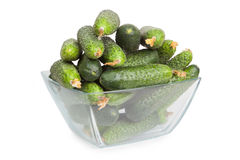 green cucumbers Stock Photo