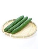 Green cucumbers Royalty Free Stock Photo