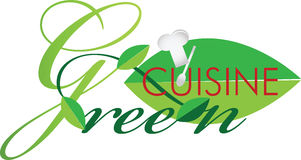 Green cuisine Stock Images