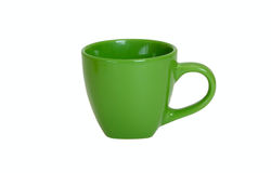 Green cup Royalty Free Stock Images