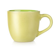 Green cup Royalty Free Stock Photography