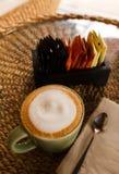 green cup coffee Stock Photos