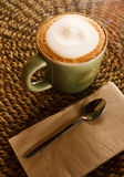 green cup coffee Royalty Free Stock Photos