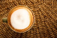 green cup coffee Royalty Free Stock Image