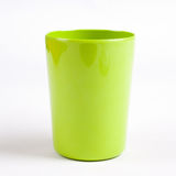 Green cup  with white Stock Photography