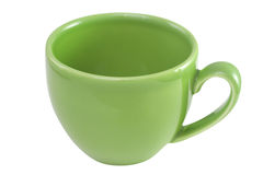 Green cup Stock Photos